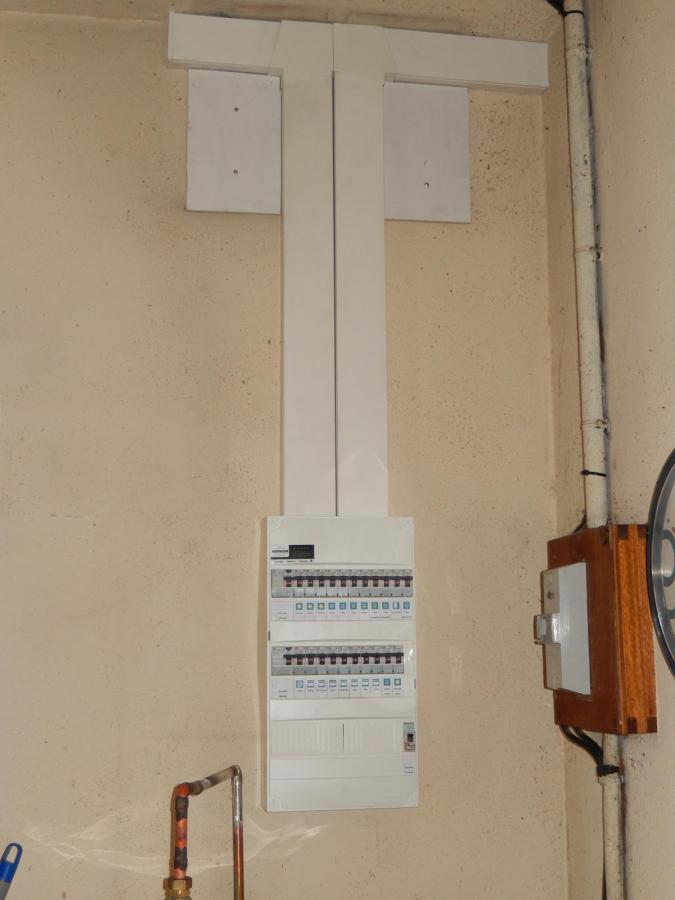 Mise au norme d'un tableau électrique à Changé (72650)