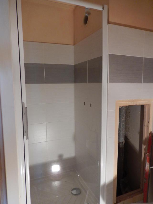 Aménagement d'une salle de bain au Mans (Douche et Faïence)