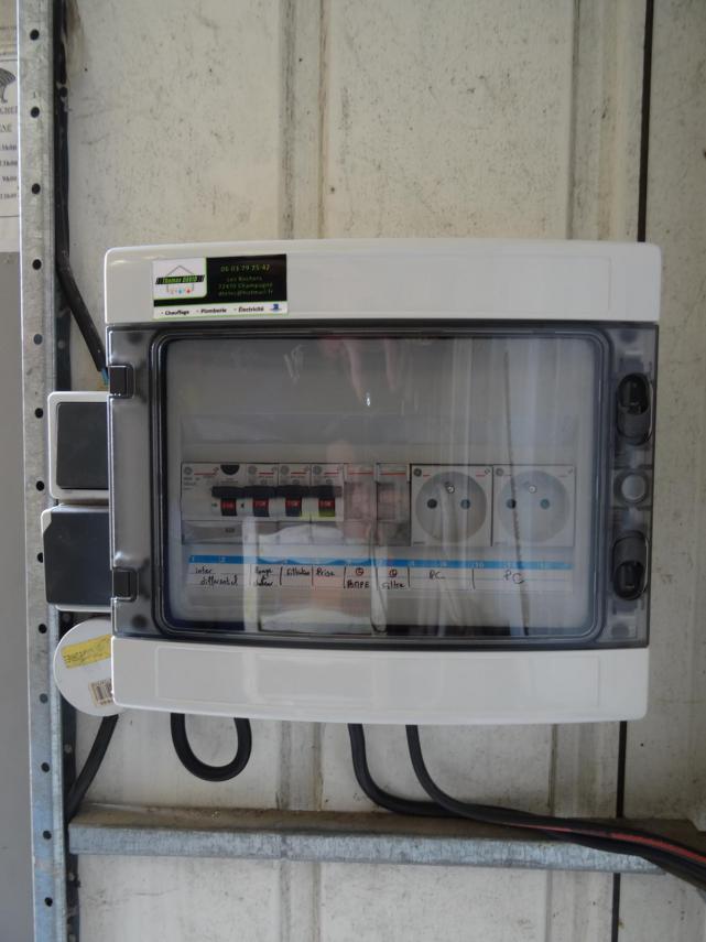 Réalisation d'un coffret électrique
